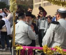 חבר המועצת ביקר בקריה בתל אביב • תיעוד