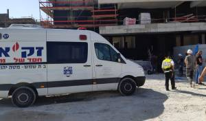 פועל בניין נהרג בכניסה לרמה ד' בבית שמש