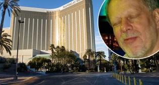 פאדוק על רקע המלון ממנו ירה - רוצח ההמונים מלאס וגאס תכנן טבח נוסף