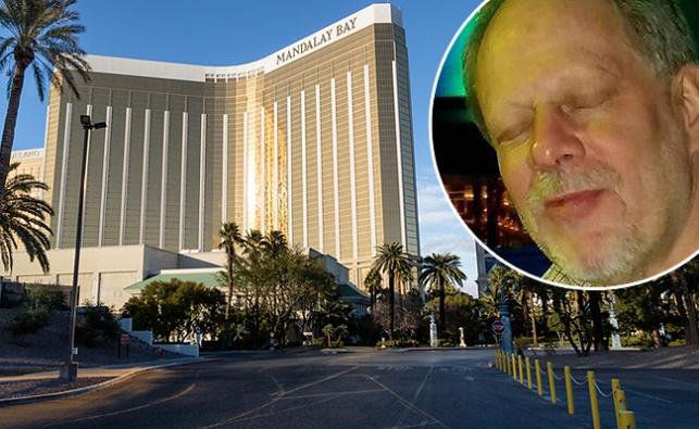 פאדוק על רקע המלון ממנו ירה