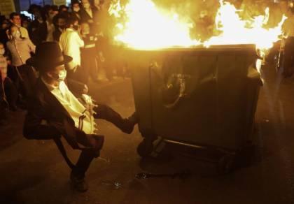 המהומות הלילה בירושלים