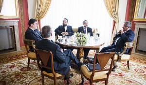 נשיא פולין נפגש עם הרבנים