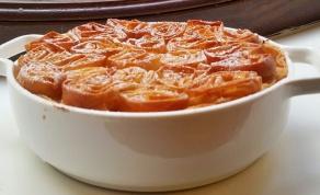 מאפה פילו וקרם פטיסייר עם קונפי תפוז - בוגצ'ה: מאפה פילו וקרם פטיסייר עם קונפי תפוז