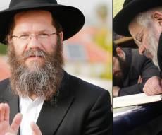 """הרב דרוקמן לצד הרב אשכנזי. ארכיון - חמיו של הרב אשכנזי: """"מרכז לפורקי עול"""""""