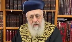 הראשון לציון במסר מפייס ליהודי רוסיה. צפו