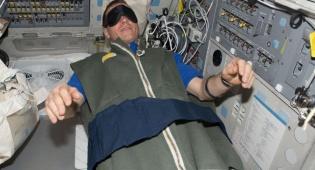 אסטרונאוט ישן בחלל - הצעת עבודה: לשכב 60 יום עבור 16 אלף יורו