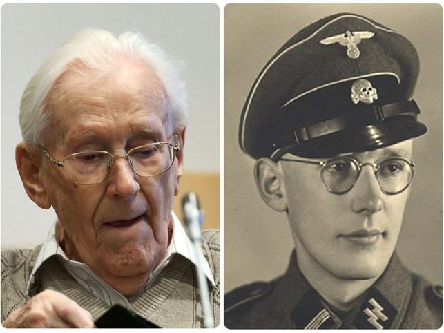 גרונינג בימיו כחייל נאצי