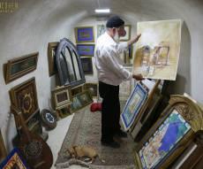 ביקור מצולם בגלרייה של האמן רון כהן בצפת