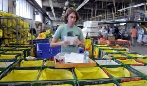 """מיון חבילות הדואר - נפרץ מרכז המיון החדש של """"דואר ישראל"""""""