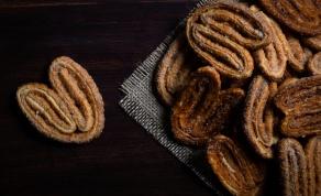 עוגיות אוזני פיל בגרסה חורפית: מתובלות ופריכות כהוגן