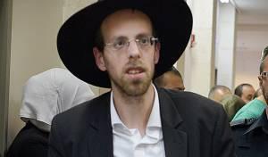 אברהם טריגר בעת מעצרו - פעיל 'הפלג' תובע דיבה פרסומאים חרדים