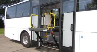 אוטובוס מונגש לנכים של חברת מרכבים