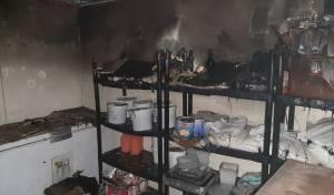 בישיבה בחיפה: מקרר עלה באש וגרם נזק