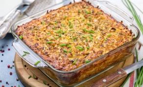 קוגל קרטופלך: קוגל תפוחי אדמה פשוט וטעים