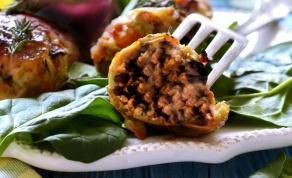 ממולאים של פסח: עוף וסלק במילוי בשר