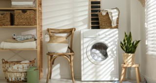 4 דרכים מגניבות לעדכן את חדר (או מרפסת) הכביסה