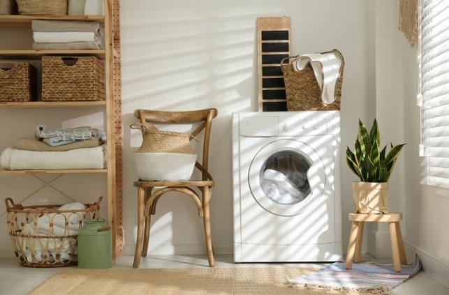 4 דרכים מגניבות לעדכן את חדר הכביסה