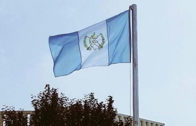 דגל גואטמלה מתנוסס בירושלים