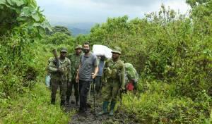 במהלך הטיול לקונגו