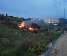 """זירת התרסקות המטוס הישראלי - עימות חריג: מטוס ישראלי הופל, הטייסים צנחו וצה""""ל תקף"""