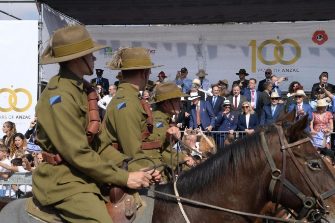 מצעד חיל הפרשים בבאר שבע • צפו בווידאו