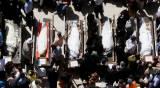"""מיטותיהם של שמונת הקדושים הי""""ד - עשור לטבח המזעזע: השירים והדמעות. מיוחד"""
