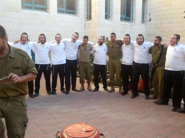 המתנדבים עם החיילים, היום