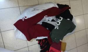 תל אביב: המשטרה החרימה מותגים מזויפים