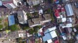 מהאוויר: אלפים ב'תיקון הכללי' באומן. צפו