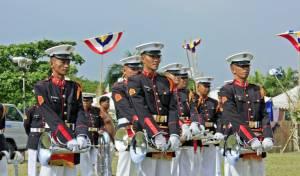 מצעד צבאי רשמי בפיליפינים