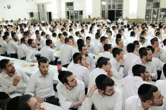 סיום בפוניבז' לעילוי נשמת הרבנית • תיעוד