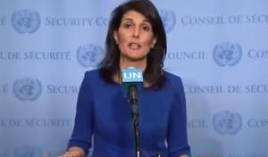 """ניקי היילי: """"לא רואים פתרון לסוריה עם אסד"""""""
