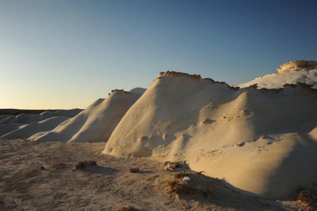 פארק חמוקי ניצנה הסמוך לגבול עם מצרים
