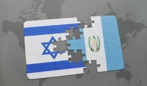דגלי ישראל וגואטמלה, אילוסטרציה