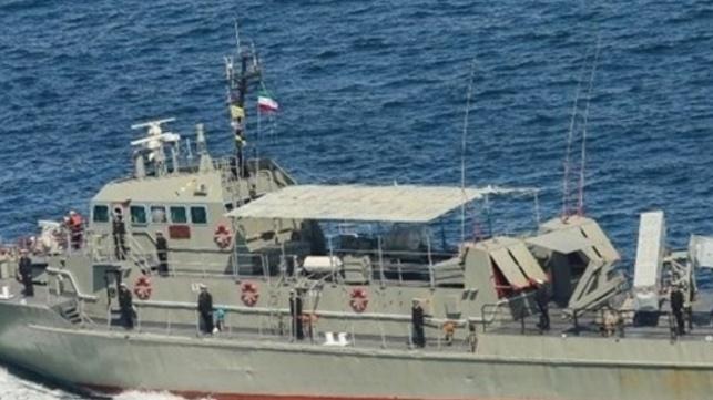 האיראנים ירו בטעות טיל על ספינה איראנית