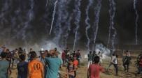 ירי של רימוני גז על מחבלי החמאס