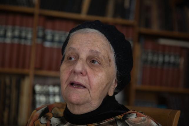 הרבנית לוינגר