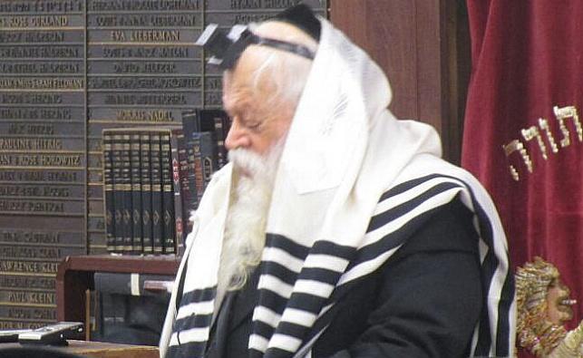 """רבי שמואל יעקב בורנשטיין בביקור בחו""""ל"""