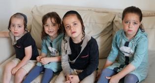 הילדים הקטנים שקבלו את הידיעה בתדהמה החלו לקרוא תהילים לרפואתו