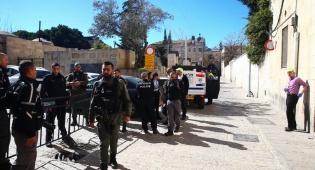 זירת הפיגוע בירושלים