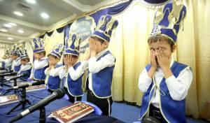 בני האברכים חגגו לראשונה מסיבת חומש • צפו
