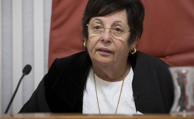 נשיאת העליון השופטת מרים נאור