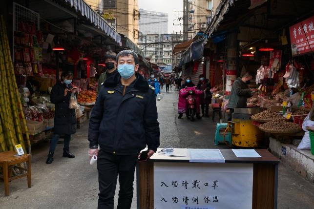 שוק בסין, בקורונה