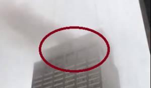 מסוק התרסק על בניין במנהטן - אדם נהרג