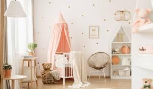 כמו באגדות: 5 טרנדים לעיצוב חדר לתינוק