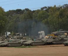תיעוד: ההיערכות הצבאית בגבול הרצועה