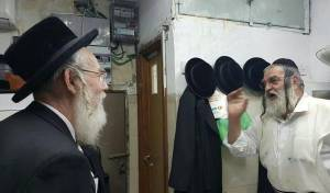 """ח""""כ אייכלר עם הרב בן ציון קופרשטוק ז""""ל"""