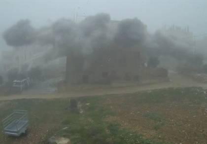 """נהרס בית המחבל שרצח את ארי פולד הי""""ד"""