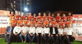 מתנדבים חדשים באיחוד הצלה. - 25 מתנדבים חדשים ל'איחוד הצלה' בירושלים