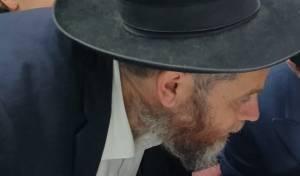 """הרב זלזניק בשבוע שעבר עם מרן הגר""""ח"""